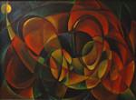 Gemälde, Hildegard Schulz, Malerin