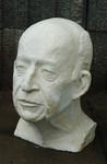 Skulptur, Büste aus Gips, Galerie au Cave