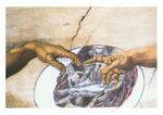 Galerie au Cave, Michelangelo, die Beseelung Adams